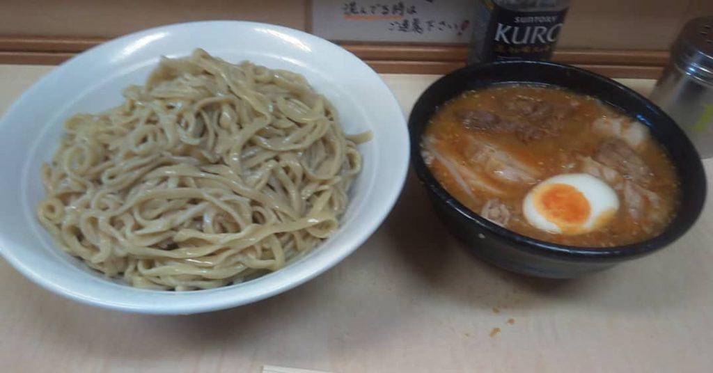 京成大久保 二郎 つけ麺