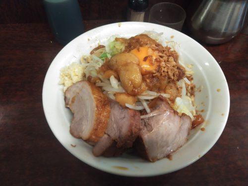 【レポート】ラーメン二郎めじろ台店 2021/01/20