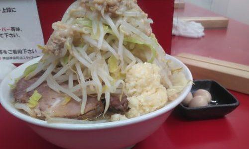 【レポート】ラーメン二郎神田神保町店2021/02/26二郎の日